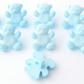 10 teddy Bear buttons 15mm