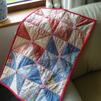 Chic PATCHWORK coffee table QUILT