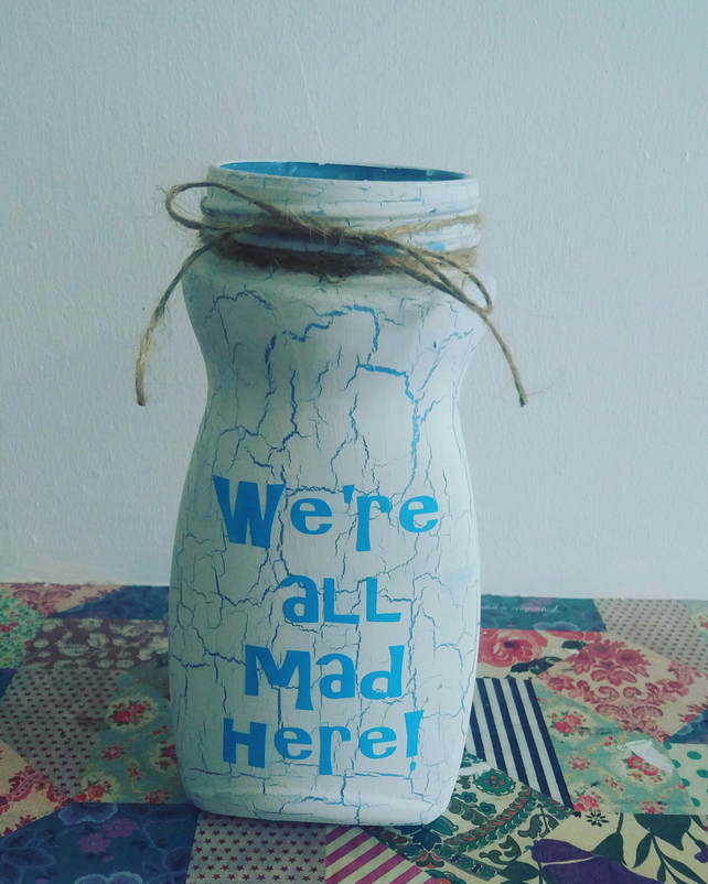 we're all mad here candle