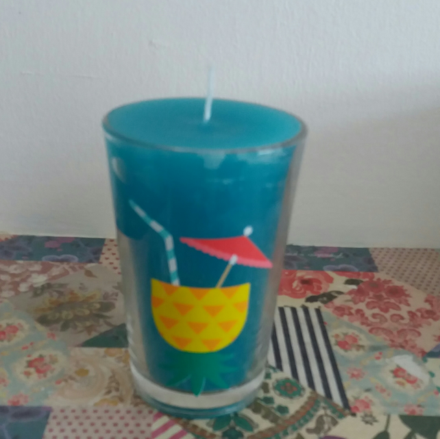 tropical summer candle