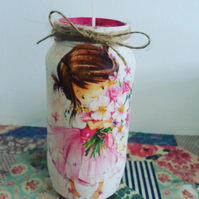 flower girl candle