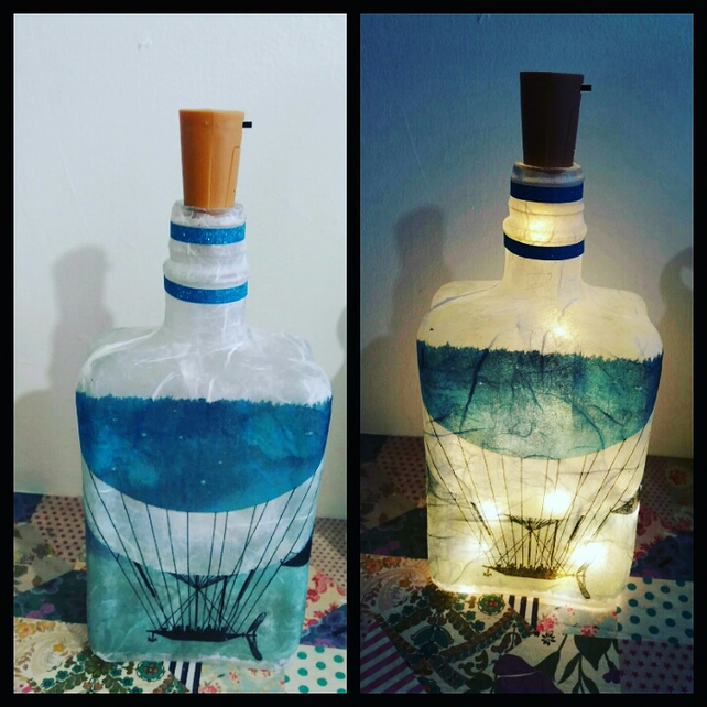 moonship bottlelamp