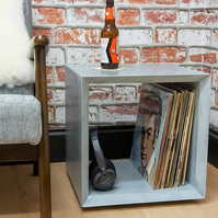 Cement box side table
