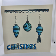 Handcrafted Christmas Card