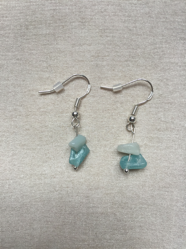 Ocean Breeze - Sterling Silver Earrings