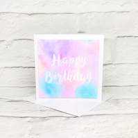 'Pastel Dream' Birthday Card