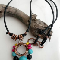 SACRED SUN : Statement Necklace