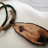 WOODLAND SPIRIT II : Hand Woven Necklace