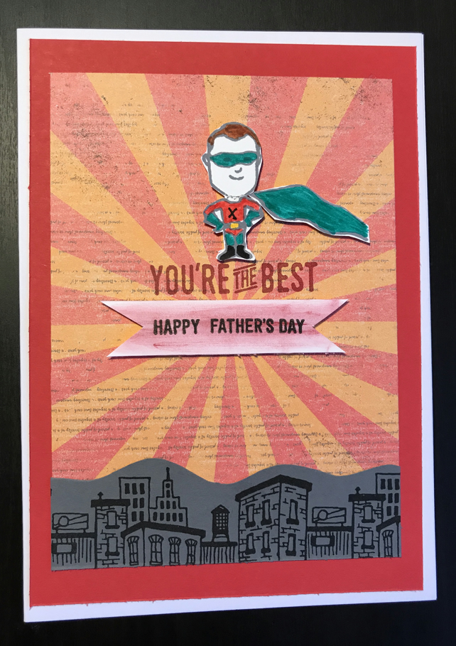 "Father's Day ""Superhero"" Card"