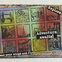 Mini Cities Bon Voyage Traveller card
