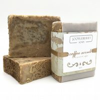Exfoliating Coffee Soap. Big Bars!!. 160g