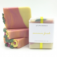 """Summer Fresh"" Handmade Soap. 120g"