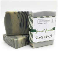 Activated Charcoal and French Green Clay Fragrance Handmade Soap. 110g