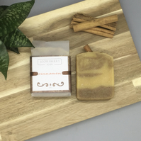 Cinnamon Essential Oil Handmade Soap. 110g
