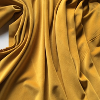 Sunshine Gold  - Light Weight Cotton Dressmaking Velvet - 112 cms 240gsm