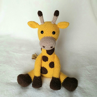 Geoff the Giraffe Crochet Pattern