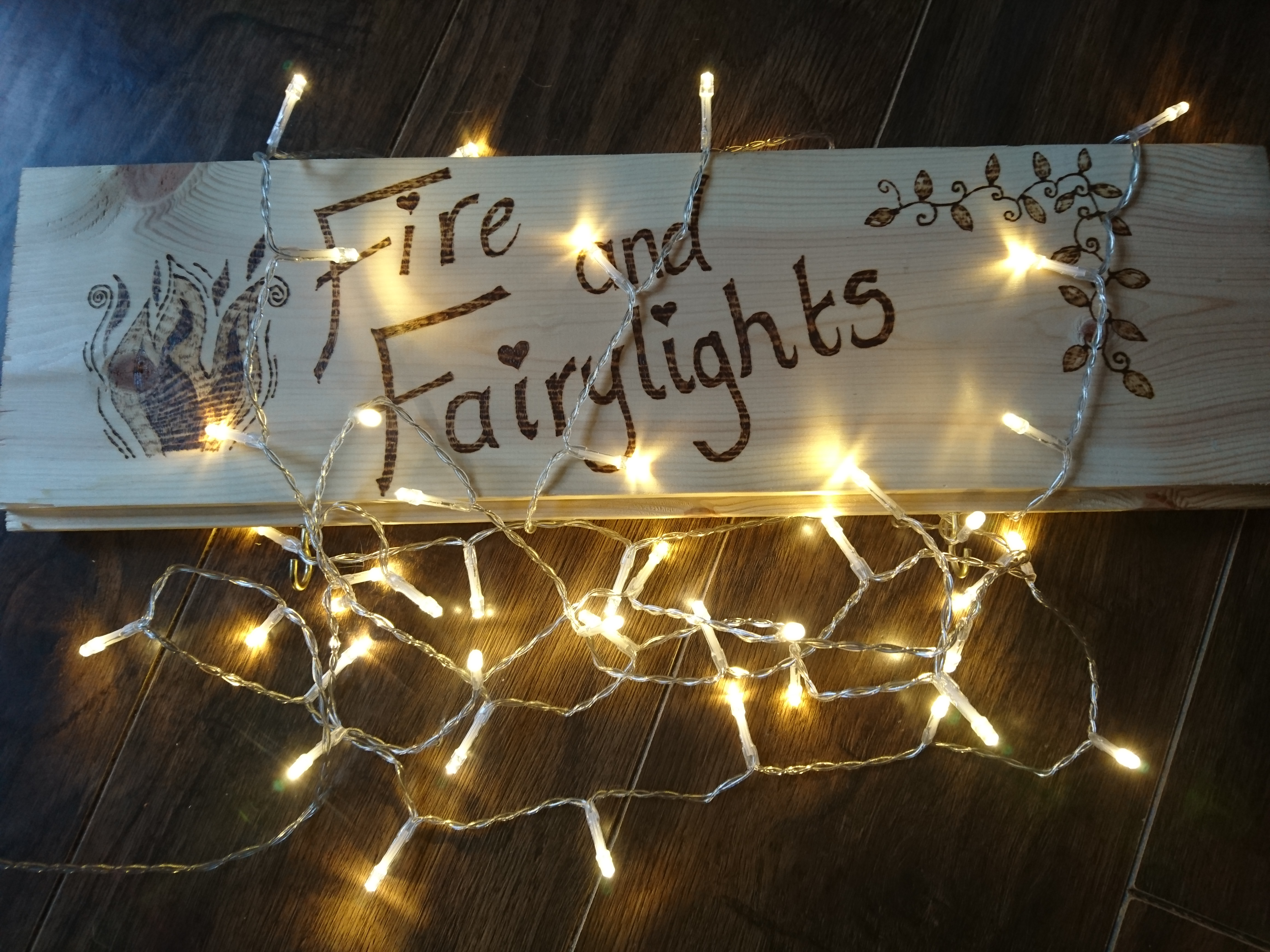 Fire and Fairylights