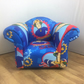 Children's Armchair in Fireman Sam Themed Fabric