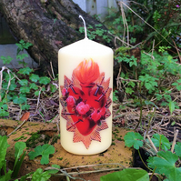 The Seven Sorrows of Mary Kitsch Sacred Heart Scented Candle