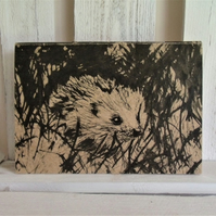 Hedgehog Eco Notebook - Sketchbook