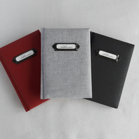 A6 Titled Address Books