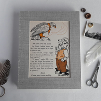 Animal Fables large creative scrapbook