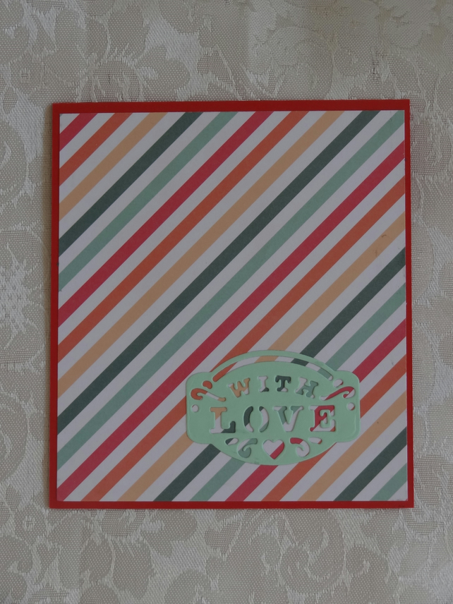 Gift Card Holder - With Love                                             (GC003)