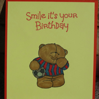 Gift Card Holder - Smile it's your Birthday                              (GC004)