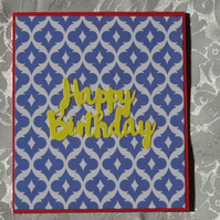 Gift Card Holder - Happy Birthday                                       (GC001)