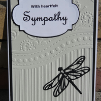 Card - With Heartfelt Sympathy (A6001)