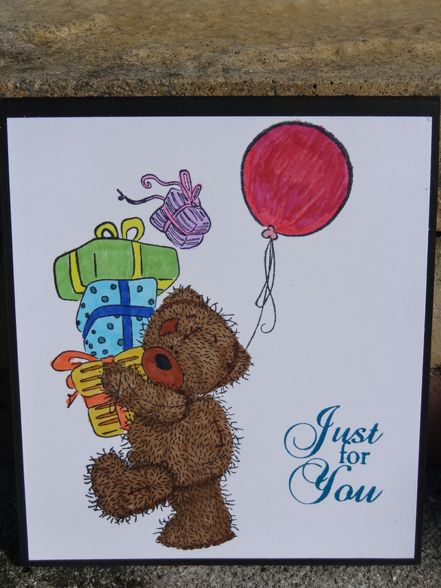 Gift Card Holder - Just for you, smile it's your birthday (GC006)