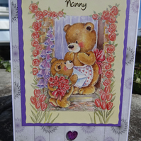 Card - Nanny - Especially for You    (57050)