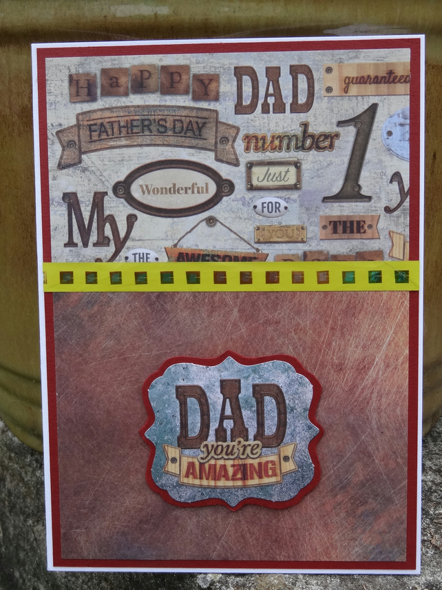 Father's Day Card - Happy Father's day - Dad your Amazing   (57057)