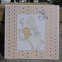 Christening Card - On your Christening   (SQ008)