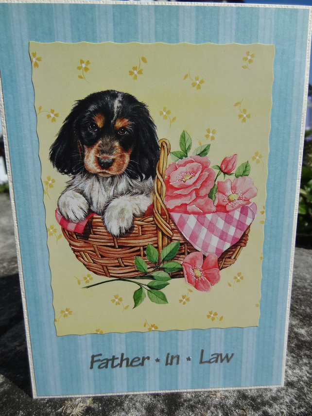 Card - Father - in - Law - On your special day    (57010)