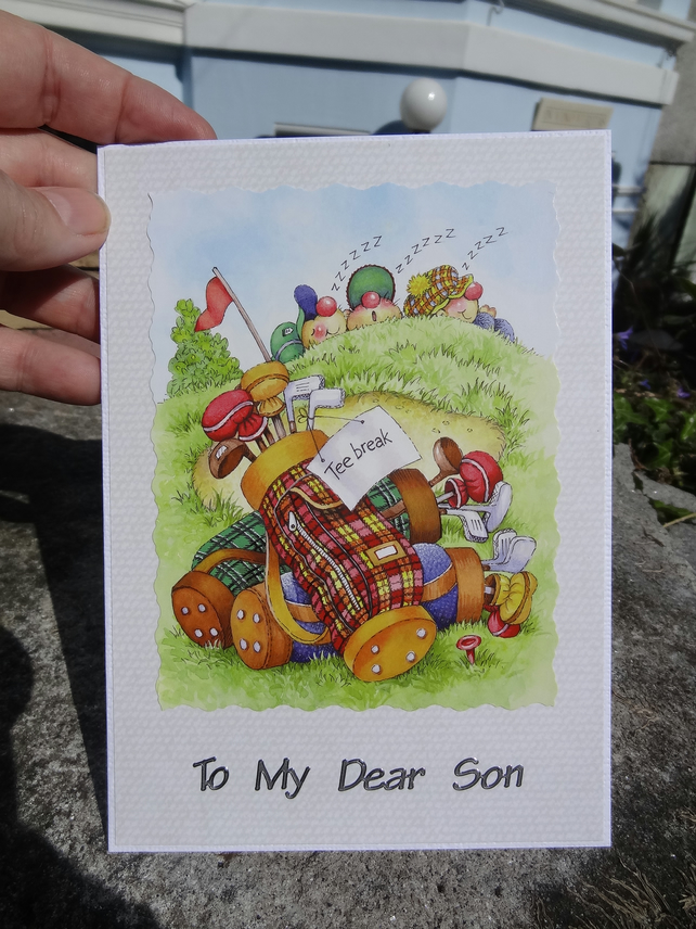 Card - To My Dear Son - On your special day    (57011)