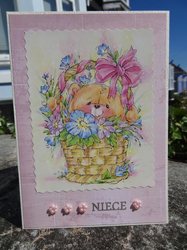 Card - Niece - On your special day    (57012)