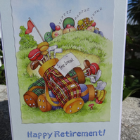 Retirement Card - Happy Retirement    (57018)