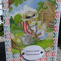 Retirement Card - Enjoy Your Retirement    (57019)