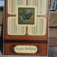 Birthday Card - Happy Birthday      (57032)