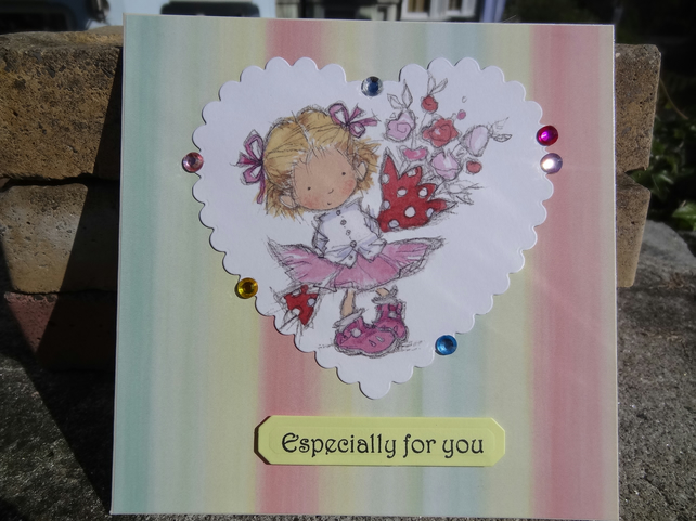 Card - Especially for you   (SQ028)