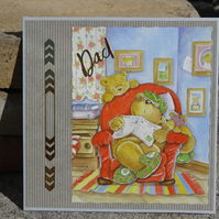 Card -  Dad - Especially for you   (SQ033)