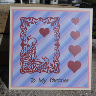 Card -  To My Partner   (SQ036)