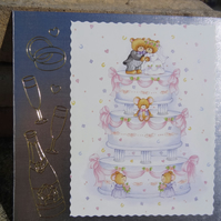 Wedding Card - On Your Wedding Day  (SQ051)