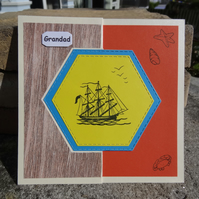 Swivel Card - Grandad - For someone special  (SQ058)