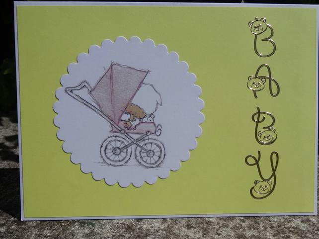 Card -  Baby Congratulations  (A50002)