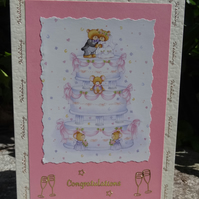 Card -  Wedding Congratulations   (A5004)