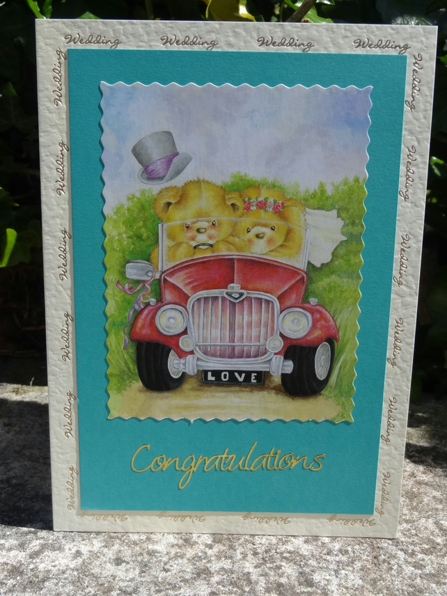 Card -  Wedding Congratulations - On your special day   (A50005)