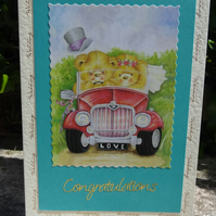Card -  Wedding Congratulations - On your special day   (A5005)