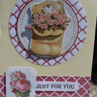 Card -  Just for You   (A5007)